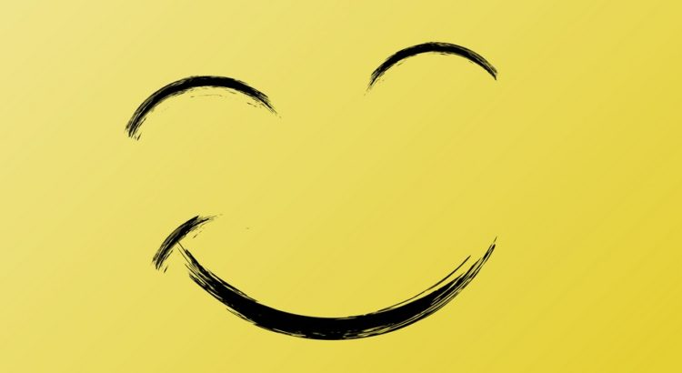En glad smiley